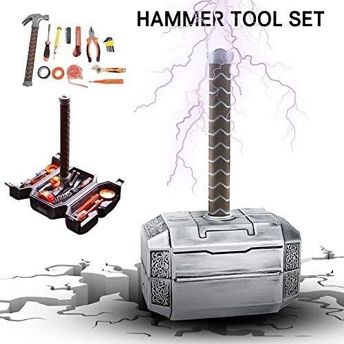 Werkzeugkoffer 11-teilig Tägliche Reparatur Werkzeugkoffer Gefüll Haushalt Werkzeugset Zangen ect DIY Reparatur Kits