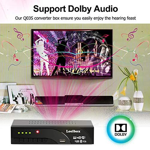 51qTh8PCCvL - Decodificador TDT Terrestre - Leelbox Digital TV HD Euroconector Sintonizador Receptor DVB T2 Tuner Full HD / HD Ready / 1080P / H.264 / MPEG / Dolby / Multimedia (DVB T2, PVR, SCART)