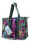 Desigual Flower Beach Kohtao Shopping Bag NegroDati:o Materiale: 100% poliestere, rivestimento 97% poliestere, 3% altre fibreo Dimensioni: Larghezza circa 47 cm, altezza circa 36 cm, profondità circa 17 cmo Colore: Negro (nero / rosa / rosso)o Fabbri...