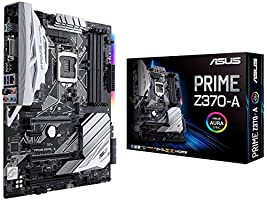Asus Prime Z370-A Gaming Mainboard Sockel 1151 (ATX, Intel Z370, Coffeelake, 4x DDR4-Speicher, USB 3.1, M.2 Schnittstelle)