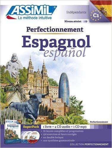 Superpack perfectionnement Espagnol (livre+4 Cd audio+1Cd mp3) (Espagnol) de David Tarradas ( 10 septembre 2015 )