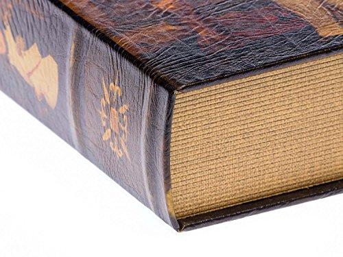 2x Schatulle Napoleon Buchattrappe Box Kästchen Schmucketui Buchtresor book box - 4