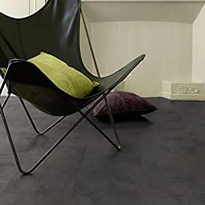 Gerflor senso adjust «0780 flagstone dark vinyle-designbelag selbstliegend pavé/pierre, céramique ou pierre naturelle-revêtement vinyle