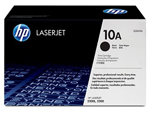 108183: HP 10A Black Standard Capacity Smart Print Toner Cartridge for HP LaserJet 2300 Series printers