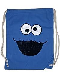 e166964b44940 Urban Backwoods Cookie Monster Turnbeutel Sporttasche Kekse Bert Krümel  Puppet Sesame Monster Place Sesamstraße Ernie TV