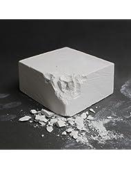 Pastilla de magnesio 56 g 100 % carbonato de magnesio de Alpidex, Gewicht Hanteln:Chalkblock 56 g