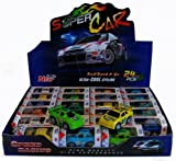 China Friction Power Pull Back Super Cars X 24, Ideal for Party Bag