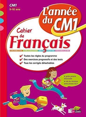L'année du CM1 - Cahier de Français de Nicole Constant (29 décembre 2009) Broché