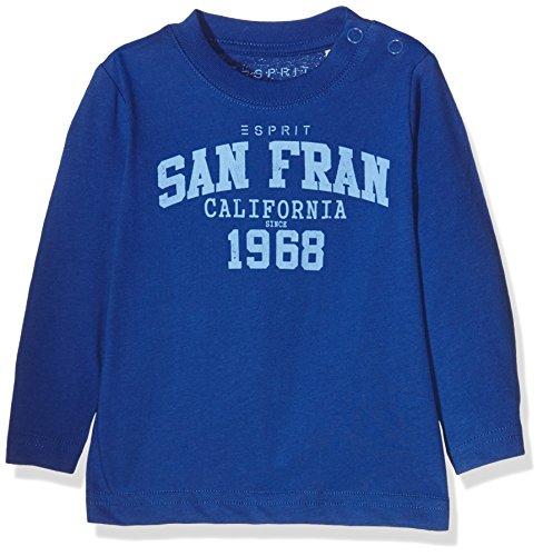Esprit Kids Baby-Jungen T-Shirt, Blau (Royalblau 410), 62