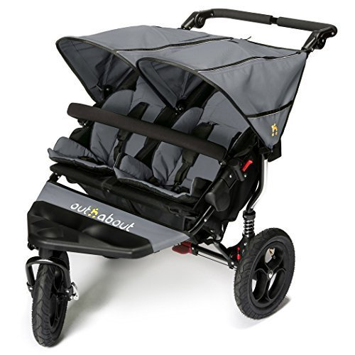 Out n About Nipper Double v4 Stroller Steel Grey 51qTqt15 lL