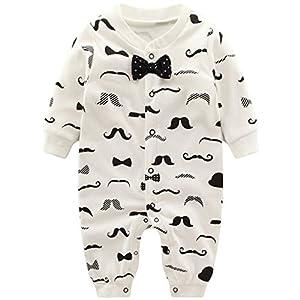 Bebs-Pijama-Algodn-Mameluco-Nios-Peleles-Sleepsuit-Caricatura-Trajes-9-12-Meses