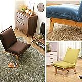B-fengliu Chaise Pliante, Chaise Longue, lit escamotable, couchette, dortoir, invité / 43.7x25.2x31inches (Color : Red)