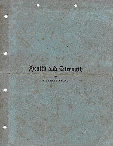 Health and Strength by Charles Atlas por Charles Atlas