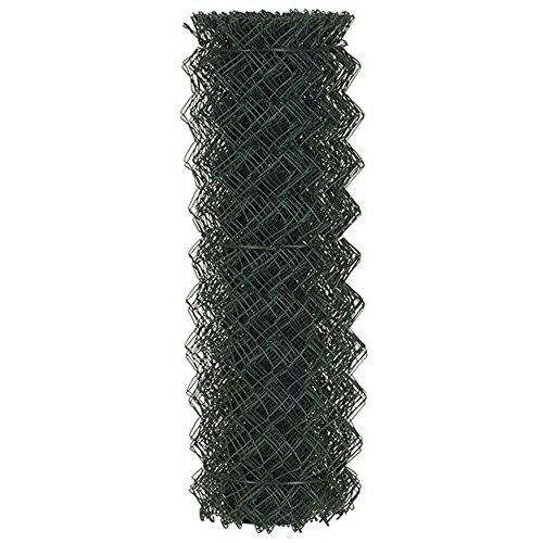 Preisvergleich Produktbild Maschendr.40x2,8x1000 10m PVC grün RAL 6005