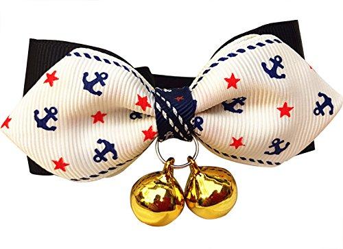 Verschiedene Farben Katzenhalsband, Verstellbar Bowtie Mit Glocke, Mode-Accessoires Für Hund Katze (Verschiedene Bowties)