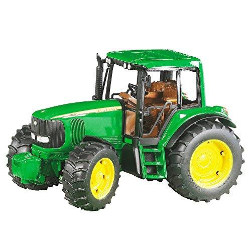 Bruder-2050 Tractor, Color Verde, Amarillo 02050