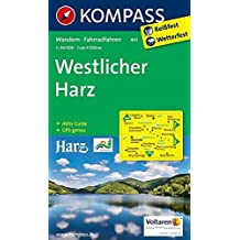 Westlicher Harz: Wanderkarte mit Aktiv Guide und Radwegen. GPS-genau. 1:50000 (KOMPASS-Wanderkarten, Band 451)