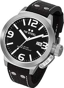 TW Steel Unisex-Armbanduhr Analog Quarz Leder TW22