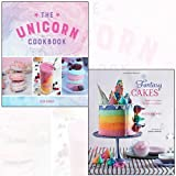 fantasy cakes, the unicorn cookbook collection 2 books set - magical recipes for fanciful bakes, magical recipes for lovers of the mythical creature