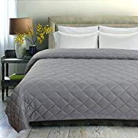 Bsb Home Cotton 180TC Bedsheet (Double_Grey)