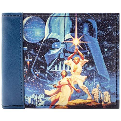 Star Wars Hoffnung Blau Portemonnaie Geldbörse