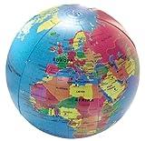 Caly 704112 - Aufblasbarer Globus 30 cm