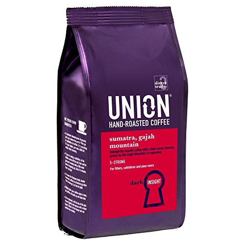 Gewerkschaft Hand Geröstet Sumatra Gajah Berg Hand Gerösteten Kaffee (227G)