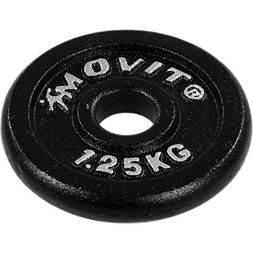 MOVIT® Gusseisen Kurzhantel 2er Set - 7