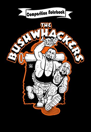 Composition Notebook: WWE The Bushwhackers Graphic, Journal 6 x 9, 100 Page Blank Lined Paperback Journal/Notebook