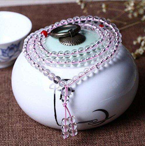 K&C principale braccialetto di perline di cristallo di fascino con tratto braccialetto pietre preziose energia (Famiglie Luce Ciondolo Pendente)