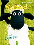 Shaun das Schaf - Malblock mit beweglichen Kulleraugen (Ein Malbuch für Kinder ab 4 Jahren) [Broschiert] - 2013