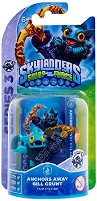 Skylanders Swap Force - Single Character Pack - Gill Grunt (Xbox 360/PS3/Nintendo Wii U/Wii/3DS) from Activision