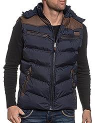 Deeluxe 74 - Doudoune bleu capuche et zippée