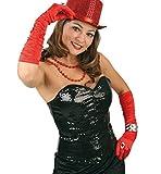 Gurimo-Tex 114931 - Pailletten Corsage Kostüm, schwarz