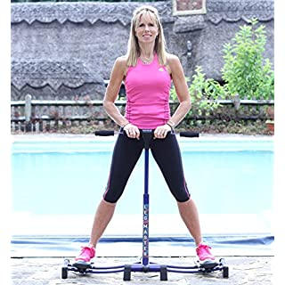 Rovera LegMaster Leg Exerciser Home Gym Fitness Equipment Weight Loss Aid Slimming and Exercising Legs, Thighs & Thighs