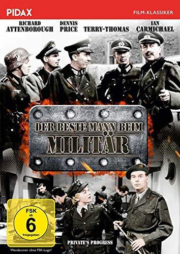 Der beste Mann beim Militär / Brillante Militär-Satire mit Starbesetzung (Pidax Film-Klassiker)