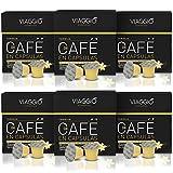 VIAGGIO ESPRESSO - 60 Nespresso Geschmack Vanilla Vanille Flavoured kompatible Kaffeekapseln - VANIGLIA