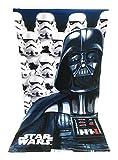 STARWAR Strandtuch, Strandtuch Mikrofaser–70x 140cm–Star Wars–Disney–Starwars–Darth Vader