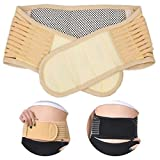 #8: SG-Mart : portable Adjustable Elastic Infrared Self-heating Magnetic Therapy Back Waist Support Lumbar Brace Belt Double Pull Strap Lower Pain Massager