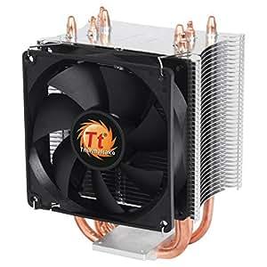 Thermaltake CLP0600 Ventola da Raffreddamento per CPU, Nero/Antracite