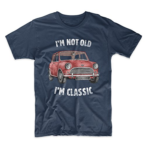 I'm Not Old I'm Classic Vintage Car Herren T-Shirt Blau