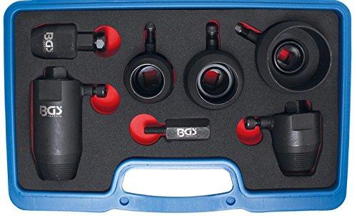 Preisvergleich Produktbild BGS 9280 Kurbel- und Nockenwellen-Radialdichtring-Ausziehsatz für VAG, 7-teilig