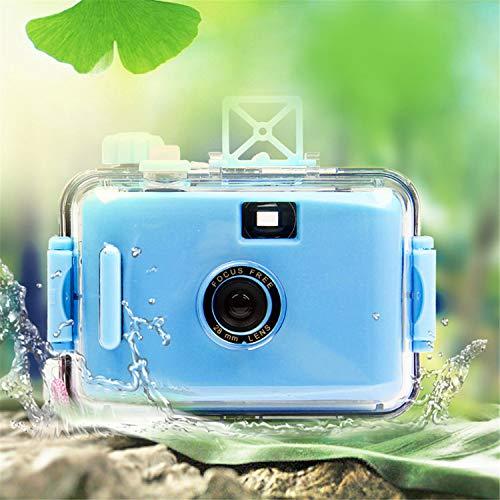 BABIFIS Kinderkamera Einwegkamera Filmkamera LOMO Kamera wasserdicht und stoßfest (Keine Batterie erforderlich) Blue
