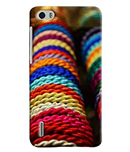 Expert Deal Best Quality 3D Printed Hard Designer Back Cover For Huawei Honor 6