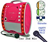Best Cd Player For Girls - Portable Karaoke Machine & CD Player - Classic Review