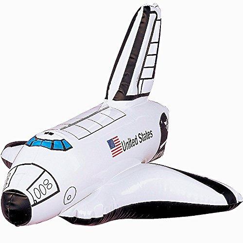 German Trendseller Aufblasbares Space Shuttle ┃ Raumschiff ┃ Rakete ┃ Kindergeburtstag ┃ Party Dekoration