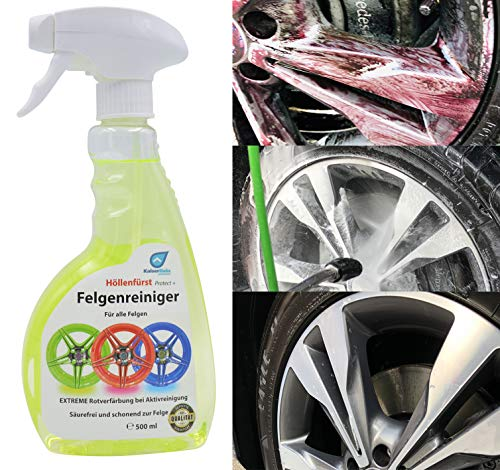 Höllenfürst Alu Felgenreiniger 0,5L Reiniger alle Auto Felgen Felgenpflege Felgen-Reiniger KFZ