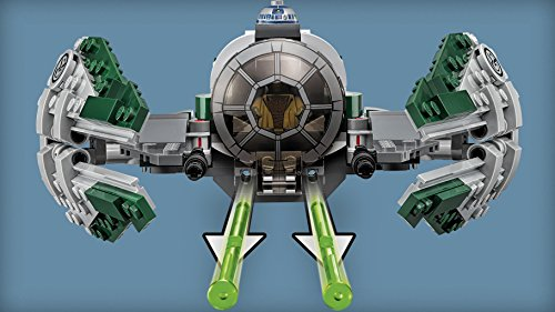 LEGO Star Wars - Jedi Starfighter de Yoda (75168)