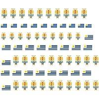 Con diseño del fondo uruguay de fútbol para 2014 para esmalte ...