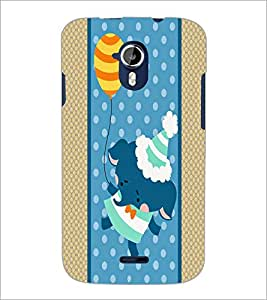 PrintDhaba Cartoon D-5807 Back Case Cover for MICROMAX A116 CANVAS HD (Multi-Coloured)